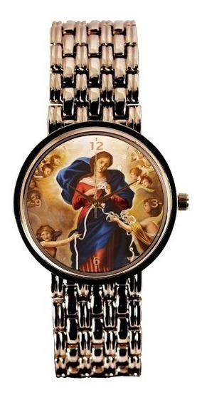 Nossa Senhora Desatadora Dos Nós Relógio Feminino Cobre 3330