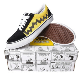 Tênis Vans Peanuts Old Skool Charlie Brown Snoopy