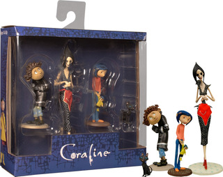 Neca Coraline Best Of Pvc Figure Set