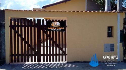 4519 - Casa Nova 2 Dormitórios Itanhaém Financiamento B.