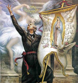 Lienzo Tela Canva Arte Mexicano Jesús Helguera Hidalgo 53x50