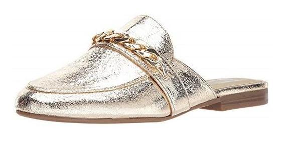 Zapatos Flat Ggnavy2 By Guess Dorados Mujer No. Ggnavy2