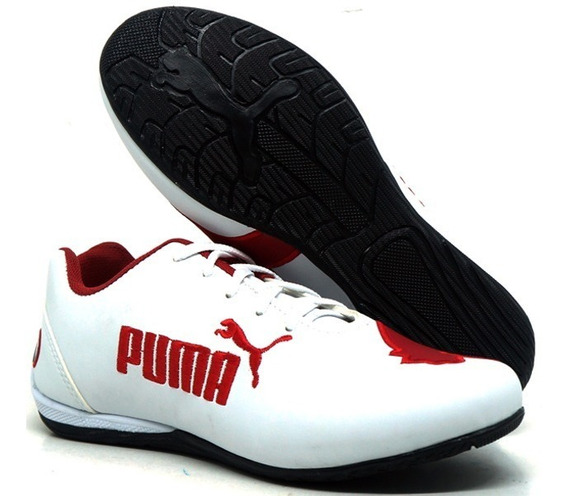 Tênis Puma Adulto Bmw Cat 2 Preto E Branco Unissex