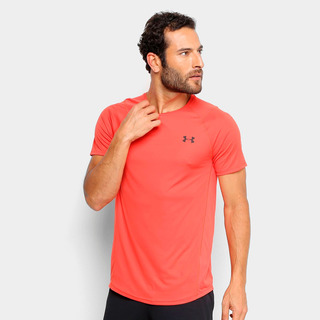 Camiseta Under Armour Mk-1 Masculina Salmão - Original