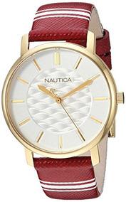 970947f9bf7c Reloj Mujer Dorado Mujeres Nautica - Relojes Pulsera en Mercado ...
