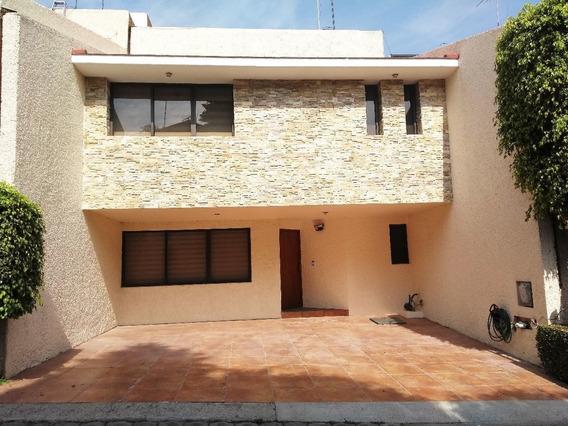 Estupenda Casa En Arenal Tepepan, Tlalpan A Una Cuadra Del Periférico.