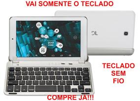 Mini Teclado Bluetooth Tablet Mac Apple iPad Windows Androi