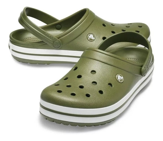 Crocs Crocband Adulto Verde