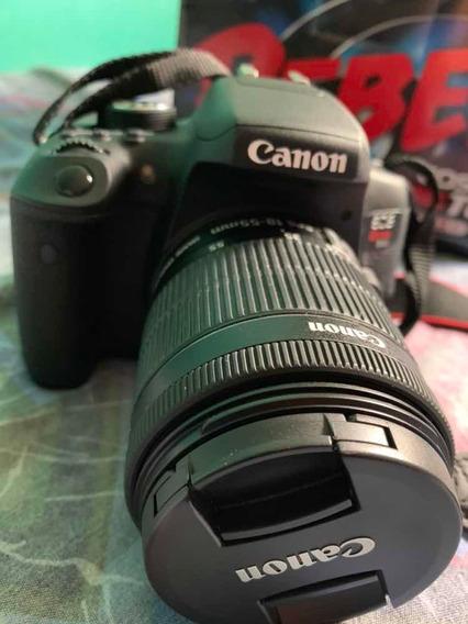 Câmera Canon T6i Ef-s 18-55mm Is Stm, Full Hd, Wi-fi