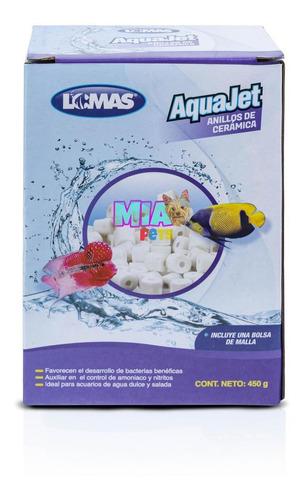 Imagen 1 de 6 de Anillos De Cerámica Aquajet 450g Purifica Agua