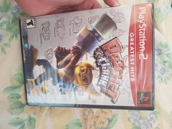 Jogo Playstation 2 Ratchet E Clank Original E Lacrado