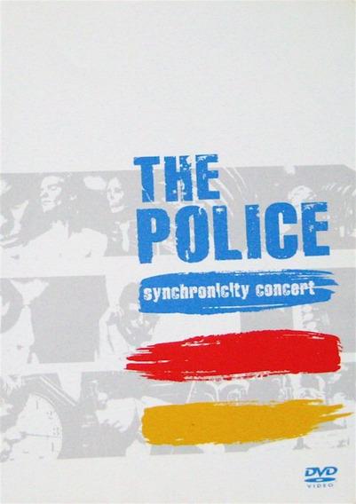 Dvd The Police Synchronic Concert En Stock Nuevo Musicanoba