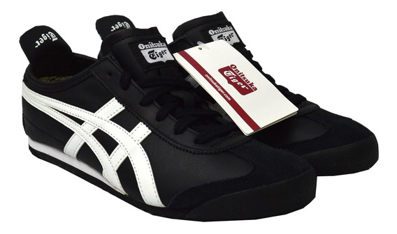 Tenis Onitsuka Tiger Unisex Negro Mexico 66 Dl4089001