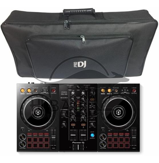 Controladora Pioneer Ddj400 Ddj 400 + Bag Envio Agora!
