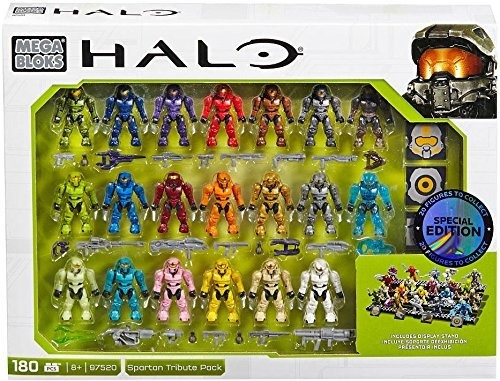 Mega Construx Halo Exclusive Spartan Tribute Set 97520