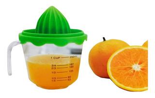 Exprimidor De Naranjas Fruta Con Vaso Medidor 250 Ml Cocina