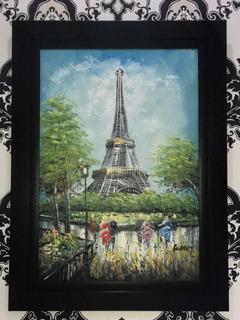 Pintura De Paris En Oleo