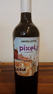 Pixels Ancellotta , By Corbeau Wines