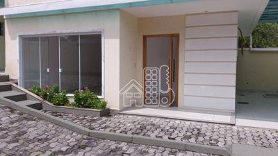Casa Residencial À Venda, Mata Paca, Niterói. - Ca0757
