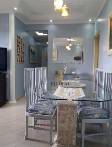 Apartamento Com 3 Dormitórios À Venda, 77 M² Por R$ 387.000,00 - Planalto - São Bernardo Do Campo/sp - Ap2213