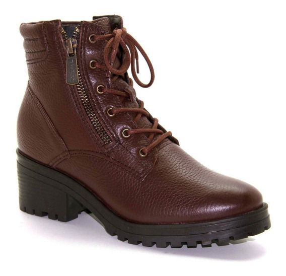 Bota Coturno Bottero Floater Wood Original Envio Em 24 H