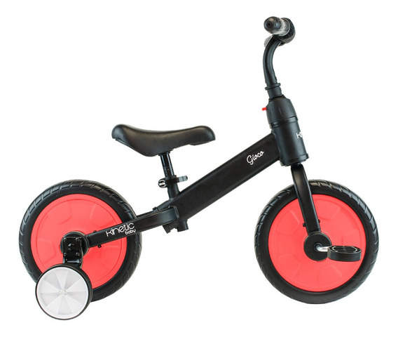 Triciclo Para Niños Patín + Pedales + Ruedas Convertible N/r