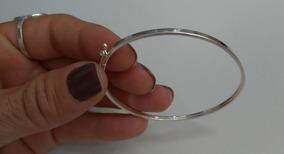 Bracelete Fio Quadrado Em Prata 950.