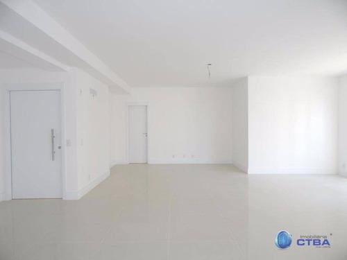 Apartamento Com 3 Quartos Suítes E 3 Vagas De Garagem À Venda, 168 M² Por R$ 1.399.000 - Juvevê - Curitiba/pr - Ap0144