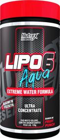 Lipo 6 Aqua - Termogenico E Diurético Natural - Nutrex
