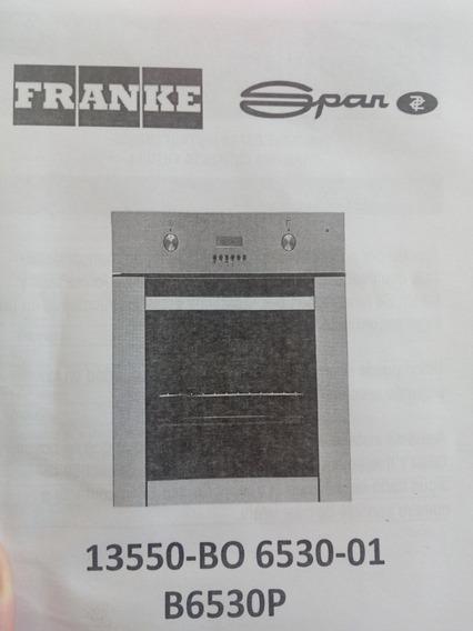 Horno Electrico Franke Para Reparar O Repuestos