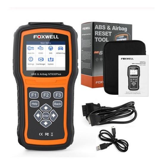 Foxwell Nt630 Plus - Melhor Scanner Automotivo + 16 Cabos