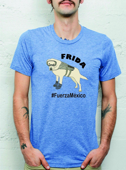 Playera Frida Fuerza México Conmemorativa / Envió Gratis