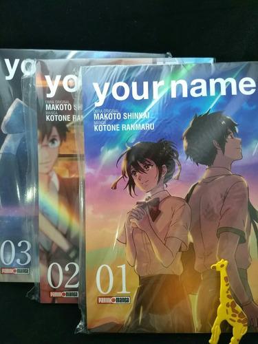 Your Name Manga Tomo 1, 2 Y 3 Completo! + Envío