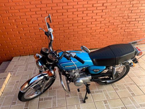 Honda Cg 125 - Cg Bolinha 1981