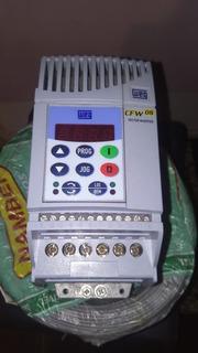 Inversor Frequência Weg Cfw08 1cv 4a 220v
