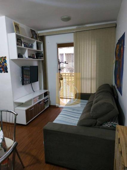 Apartamento Com 2 Dormitórios Para Alugar Por R$ 650/mês - Jardim São Miguel - Ferraz De Vasconcelos/sp - Ap0170