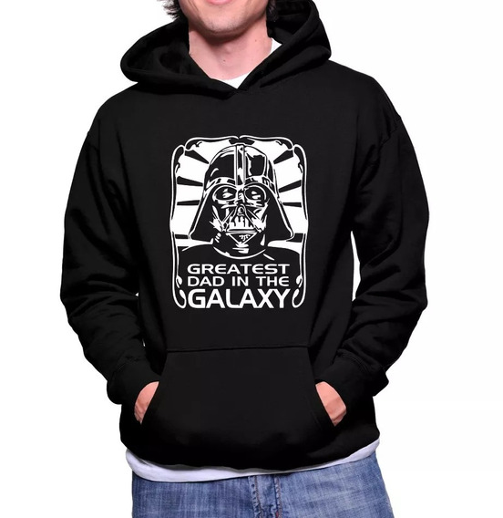 Moletom Canguru Star Wars Darth Vader Greatest Dad In The