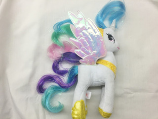 My Little Pony Princess Celestia Hasbro 24 Cm Peluche