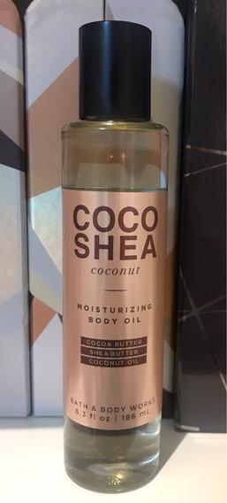 Óleo Para O Corpo Coconut Coco Shea Bath And Body Works