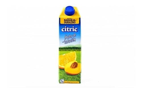 Jugo De Naranja-durazno Citric X 1lt