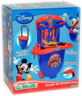 Banco Herramientas Mickey Mouse Original Disney 1344 Bigshop