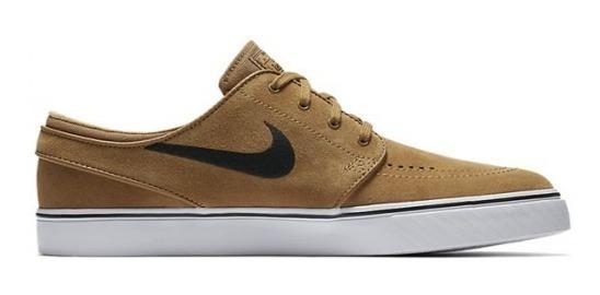 Tênis Nike Sb Stefan Janoski Marrom Camurça Original