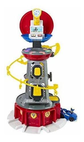 Paw Patrol, Mighty Pups Super Paws Lookout Tower Playset Con
