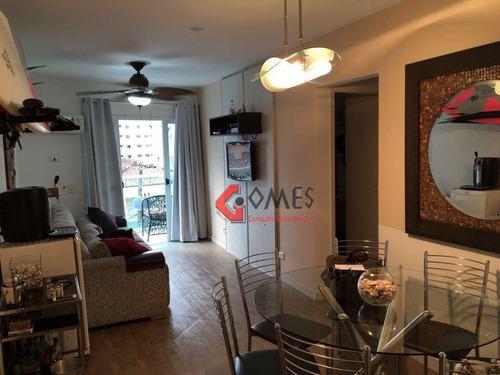 Apartamento Residencial À Venda, Jardim Las Palmas, Guarujá. - Ap2309