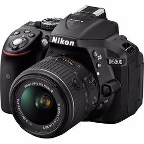 Câmera Nikon D5300 24.2mp Obj 18-55mm