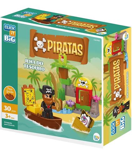 Bloco De Montar Click It Cis Piratas