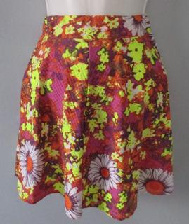Mini Falda Sketer Unitalla Cintura Alta, Varios Colores.