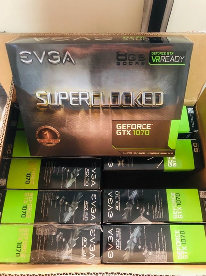 Evga Gforce Gtx 1070sc 8gb