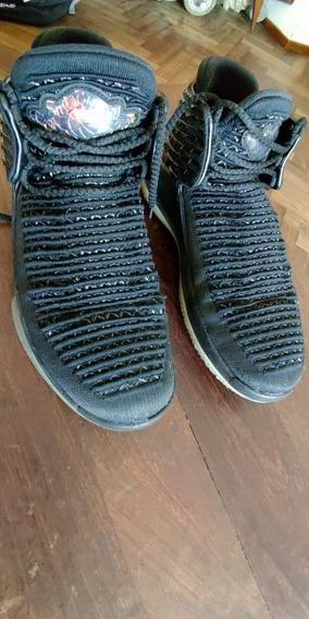Zapatillas Nike Jordan Air Black Cat Talle 9.5 Usada