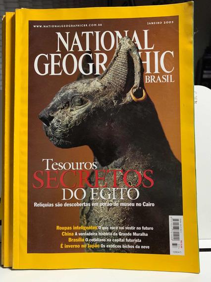 National Geographic Brasil Ed 33 Janeiro 2003 Tesouros Egi